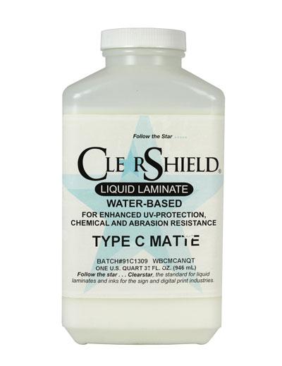 ClearShield Type C/Canvas Guard Matte Laminate Quart